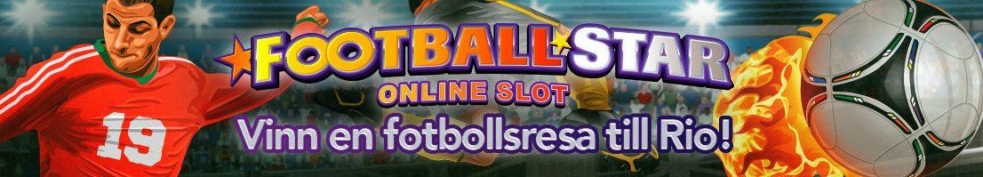 Kom in i matchen med spelautomaten Football Star!