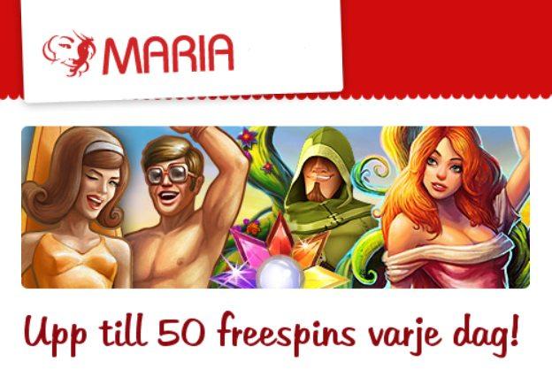hämta 50 free spins