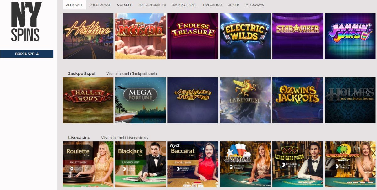 NY spins casino