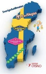 Svenska casinon med licens av spelinspektionen